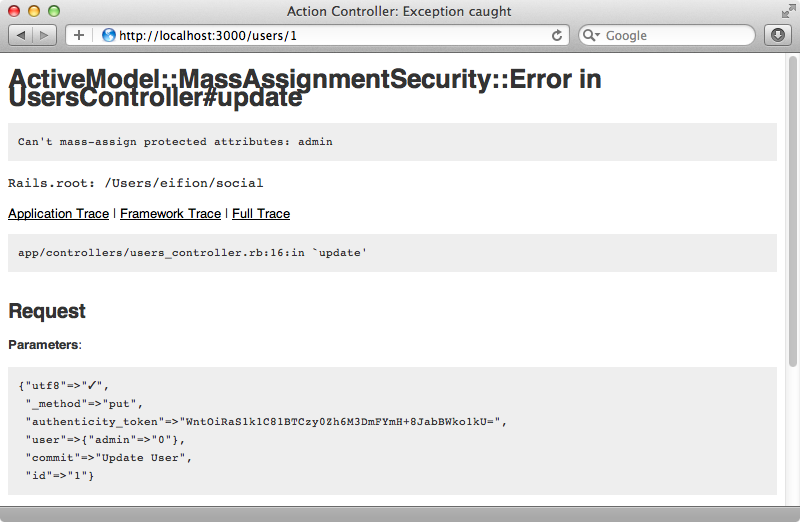 Attempting to modify a protected attribute now throws an error.