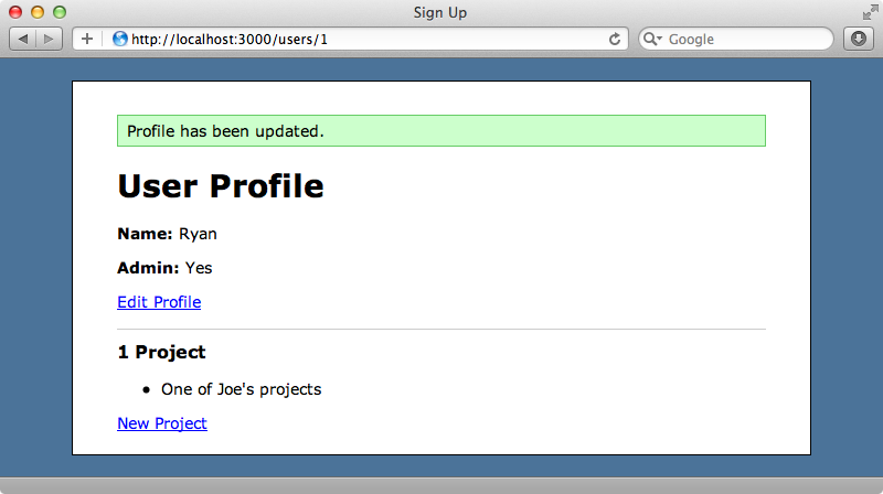 The malicious user now owns a project which isn't theirs.