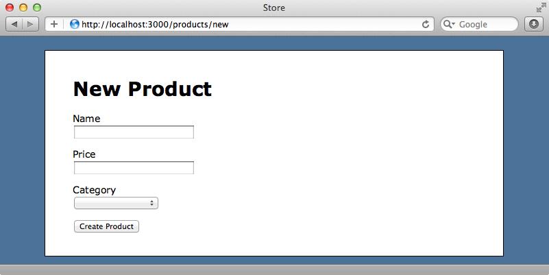 商品を新規登録するページ