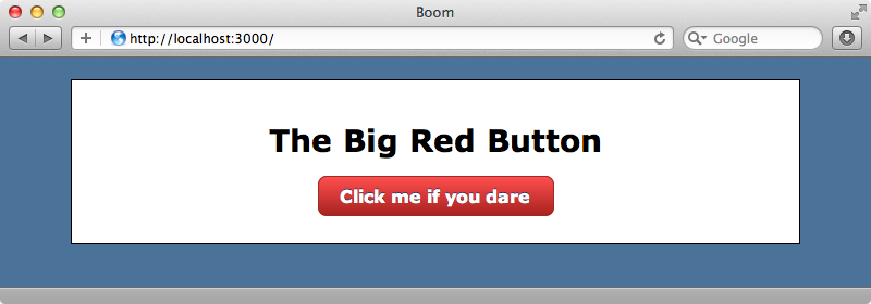 The page with the Big Red Button.