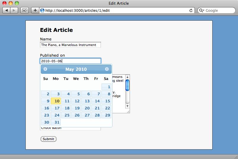 I menu a tendina sono stati sostituiti da campi di testo con annesso calendario in popup.
