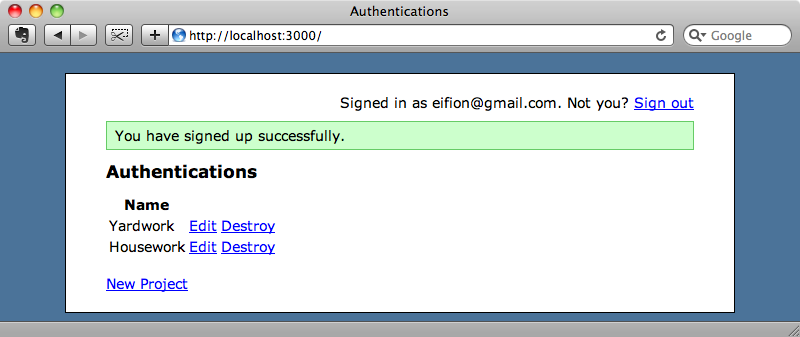Signed up via OpenID.