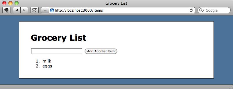 Podemos añadir elementos a la lista.