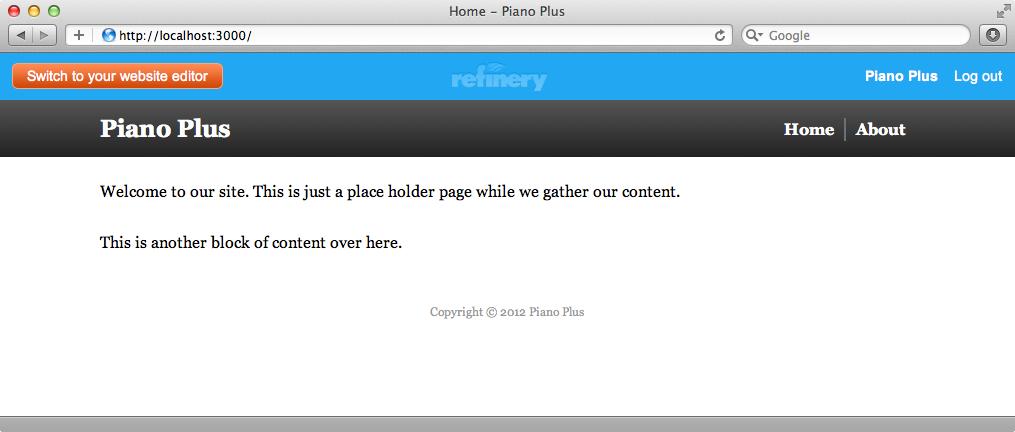 トップページはCSSを追加することできれいになった
