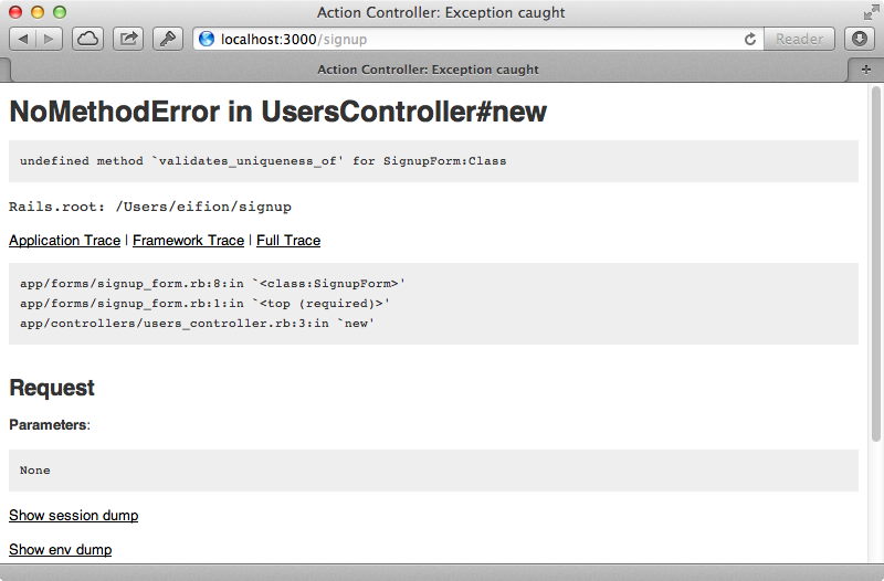 Our form object can't handle validates_uniqueness_of.