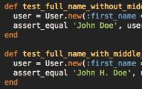 Refactoring User Name Part 2