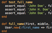 Refactoring User Name Part 3