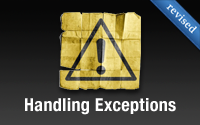 Handling Exceptions (revised)