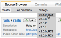 Gitting Rails 2.1 RC1
