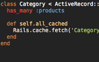 Caching in Rails 2.1