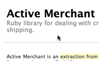 Active Merchant Basics