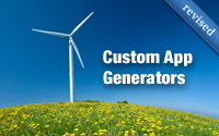 Custom App Generators (revised)