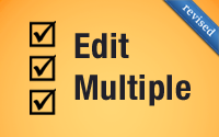 Edit Multiple (revised)