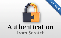 Authentication from Scratch (revised)