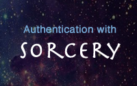 Authentication with Sorcery