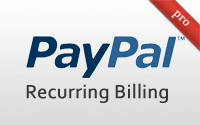 PayPal Recurring Billing