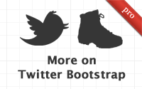 More on Twitter Bootstrap