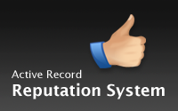 Active Record Reputation System
