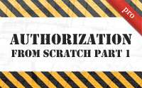 Authorization from Scratch Part 1