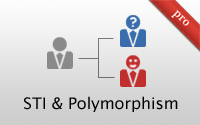 STI and Polymorphic Associations