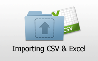 Importing CSV and Excel